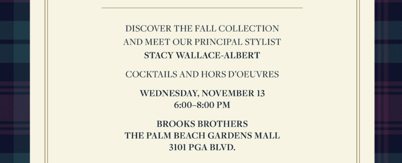 Brooks Brothers – November 13, 2019