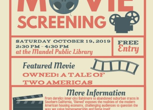 Movie Screening – Owned: A Tale of Two Americas
