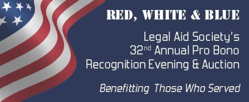 SPONSORSHIP INFORMATION – 32nd Annual Pro Bono Recognition Evening – Red, White & Blue
