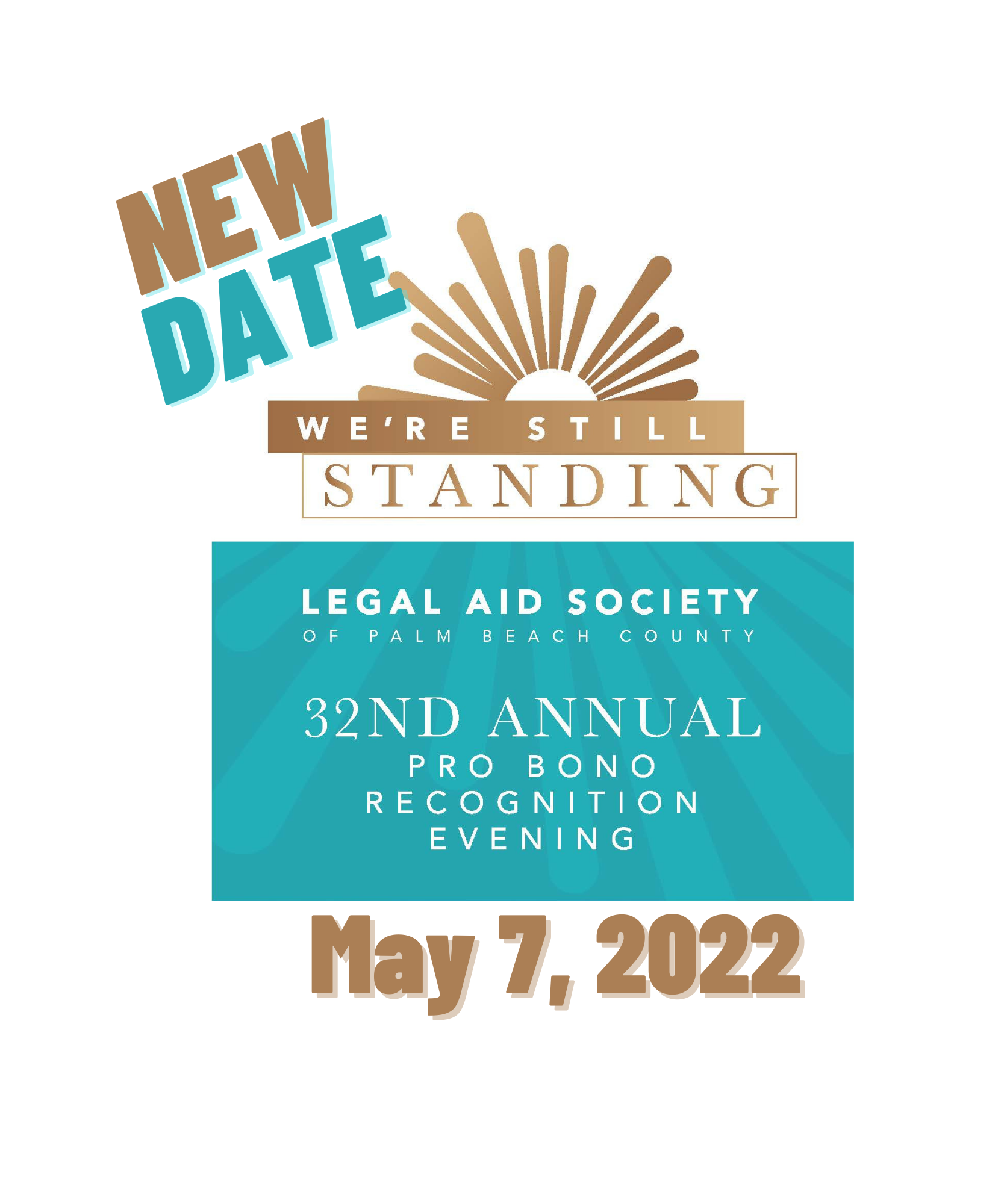 NEW DATE for 32nd Annual Pro Bono Recognition Evening – May 7, 2022